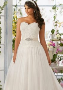 10.Wedding Bridal dresses for seniors