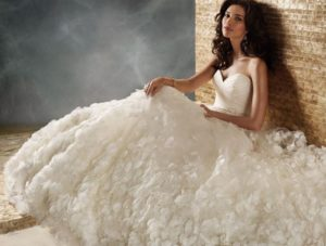 12.Wedding Bridal dresses for seniors