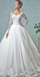 14.Wedding dresses for older brides second weddings