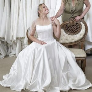 17.Wedding dress for older bride informal