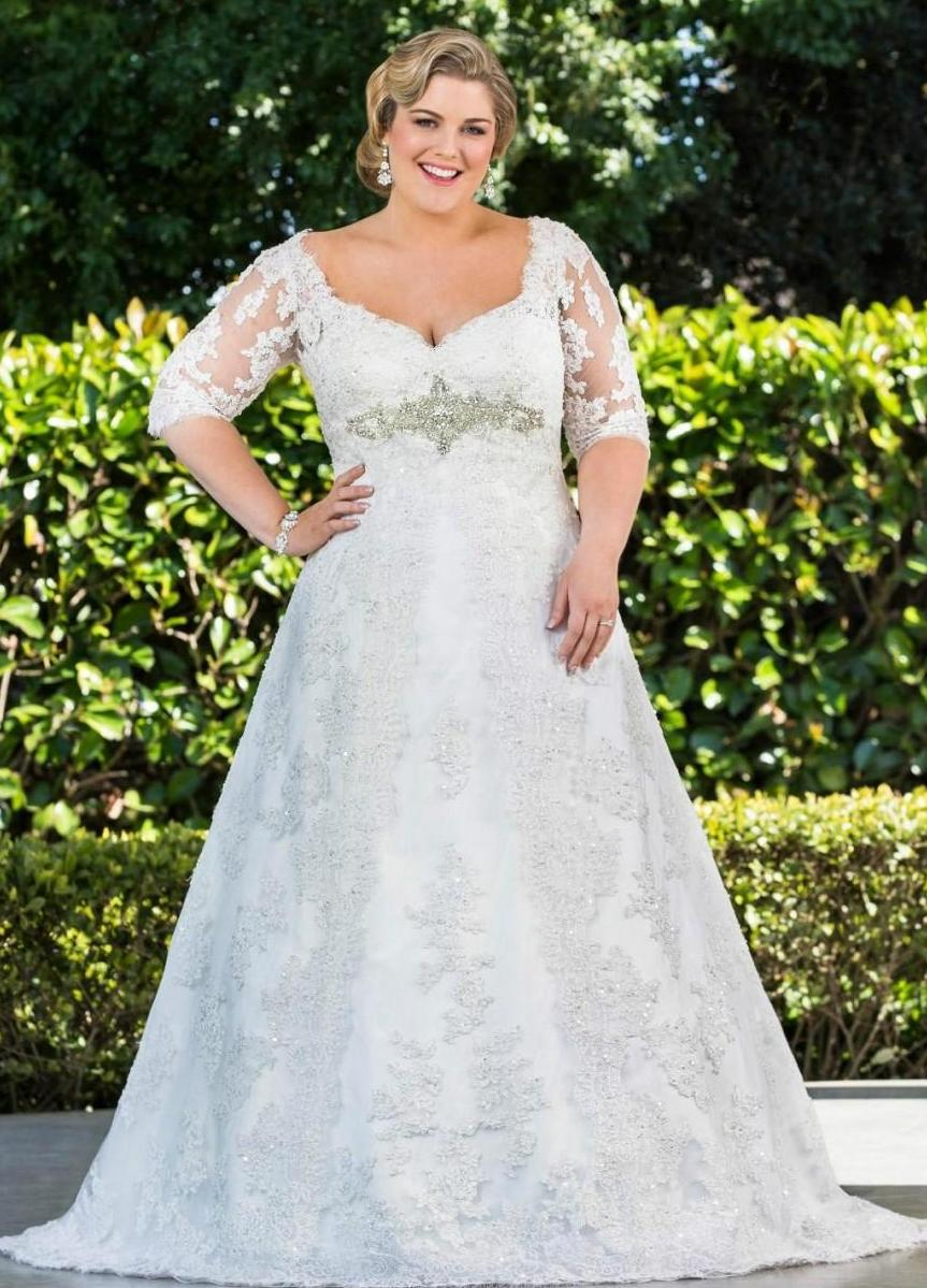Wedding dresses for older brides over 70 plus size women for Wedding dresses for womens