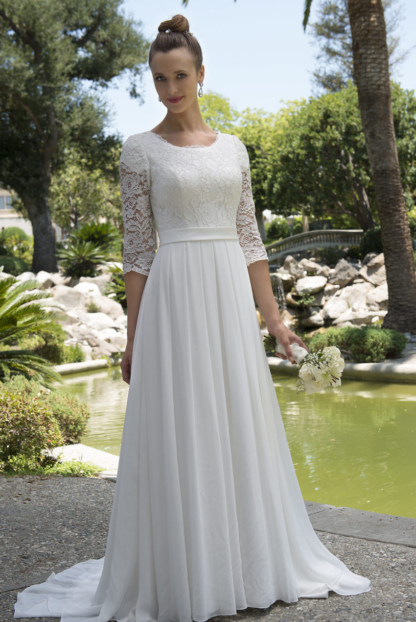 Wedding dresses for older brides over 70 plus size women for Wedding dresses for 60 year olds