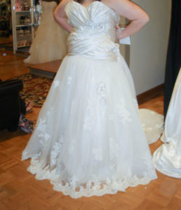 36.Cute Wedding dresses for older brides over 40 second marriage