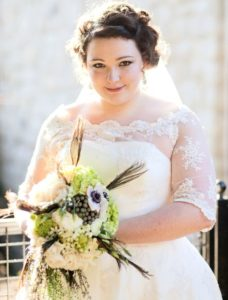 38.Wedding dresses for old lady plus size