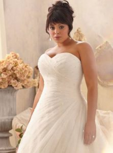 Wedding dresses for older brides over 65