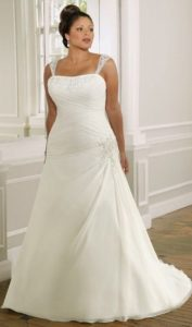 9.Wedding Bridal dresses for seniors