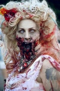 Zombie Bride Hairstyles