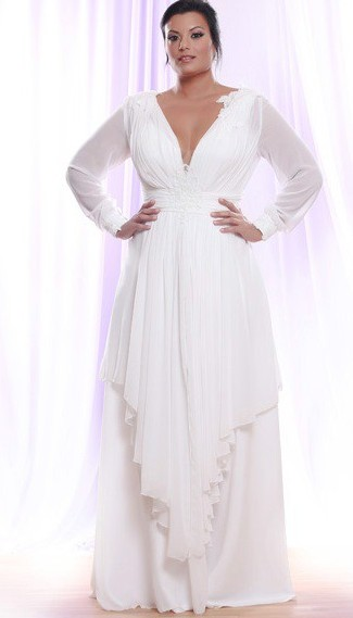 Wedding dresses for second marriage over 40 plus size for Beach wedding dresses for older brides