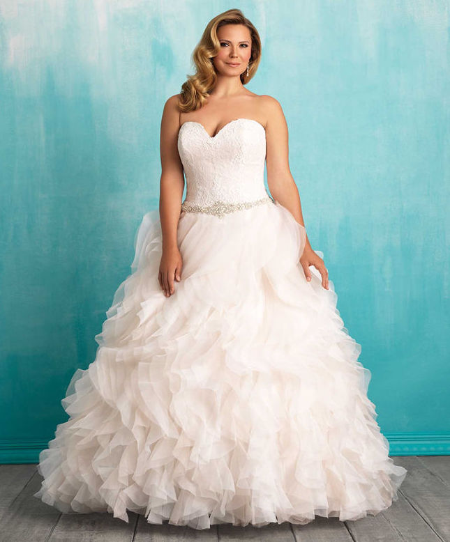 Wedding Dresses for Second Marriage Over 40 Plus Size – Plus Size ...
