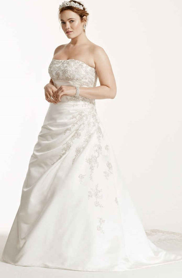 Wedding Dress For Women Over 40: Wedding Dresses For Second Marriage Over 40 Plus Size