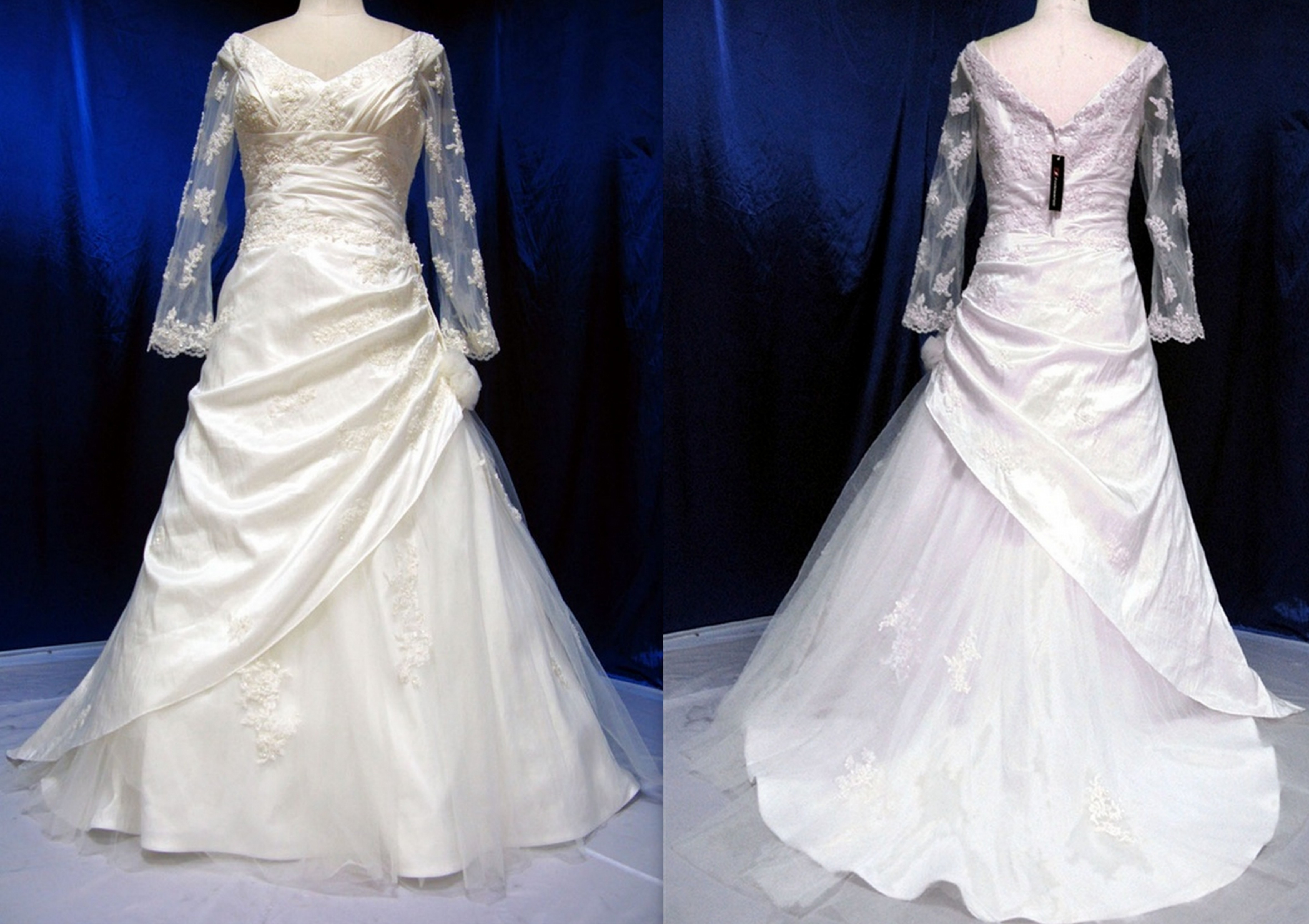 Wedding dresses for second marriage over 40 plus size for Third marriage wedding dress