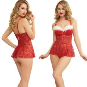12. Sexy Plus size Christmas dress for girls