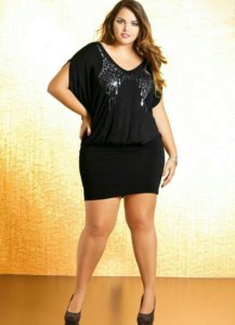 13. Plus size dresses for Christmas