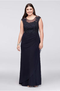 15. Plus size party dresses for new year eve