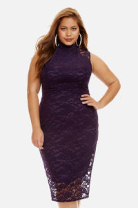 2. Plus size cocktaill dress for Christmas