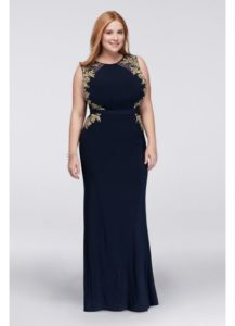 21. Plus size party dresses for new year eve
