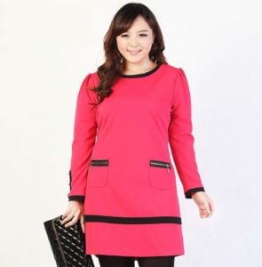 3. new year eve dress for curvy red