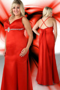 4. new year eve dress for curvy red