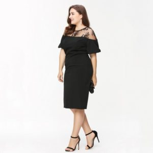 6. Cocktail dress plus size women for Christmas