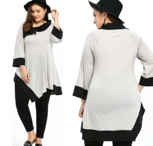 7. Plus size casual dress for women