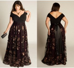 7. Trendy plus size dresses for Christmas