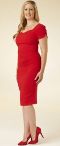 7. new year eve dress for curvy red