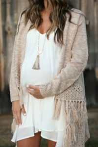 1. Stylish Maternity dresses for baby shower