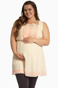 10. Plus size maternity clothes