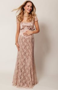 12. Long maternity dresses for special occasions