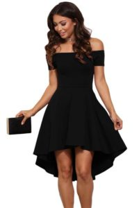 12. Plus size black dress for special occasion