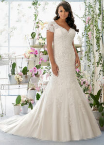 12. Special wedding dresses for plus size women 2018