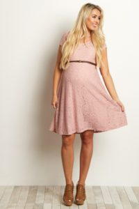 16. Affordable formal maternity dresses for baby shower
