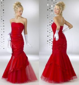 17. Party dresses red