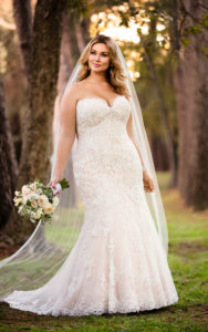 19. Plus size vintage wedding dresses