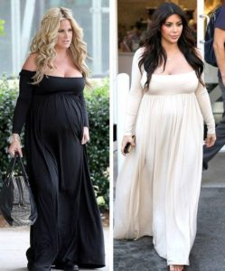 2. Plus size maternity dresses for special occasions