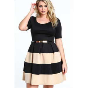 2. Plus size party wear clothes