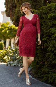 20. Affordable formal maternity dresses for baby shower