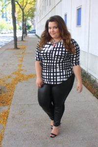 22. Special event leggings for plus size women