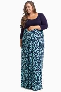25. Plus size maternity dresses for baby shower