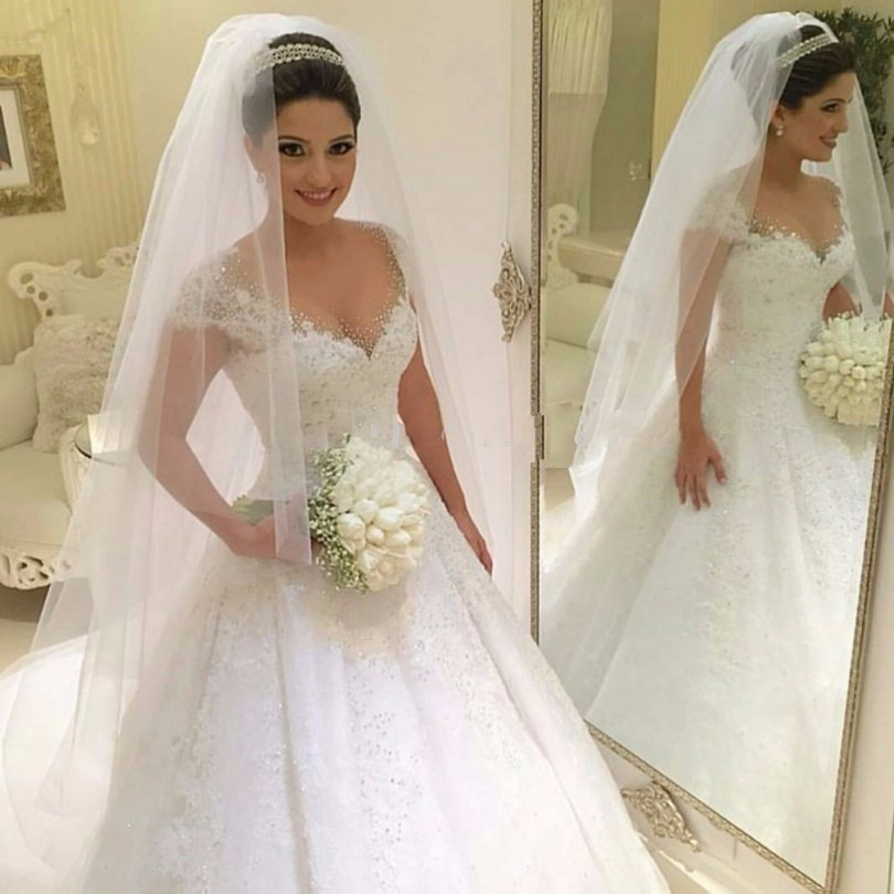 Affordable wedding dresses for plus size women 2018 plus for Dresses for girls for wedding