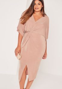 27. Plus size wedding guest dresses with sleeves