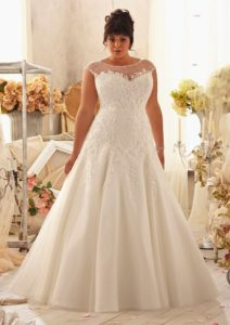 3. Best wedding dress for plus size