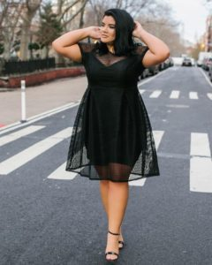 31. Plus size hip dresses