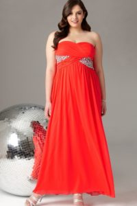33. Plus size dresses for weddings for mother