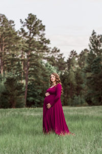 37. Formal maternity dresses