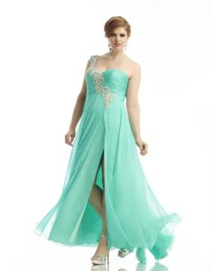 37. Plus size maternity prom dresses