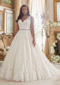 4. Best wedding dress for plus size