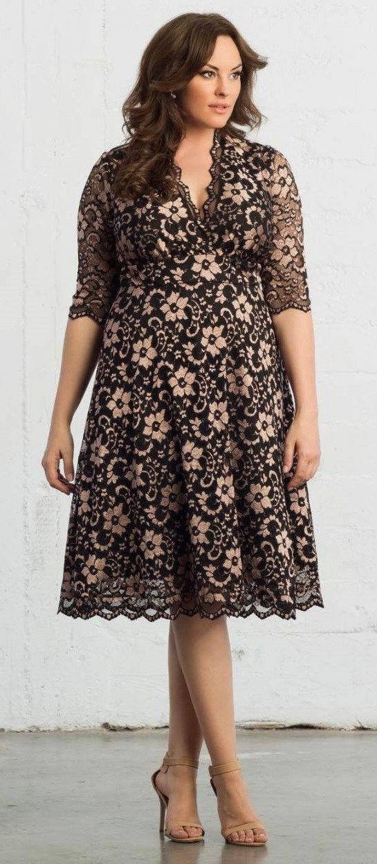 Cocktail dresses for women over 50 plus size