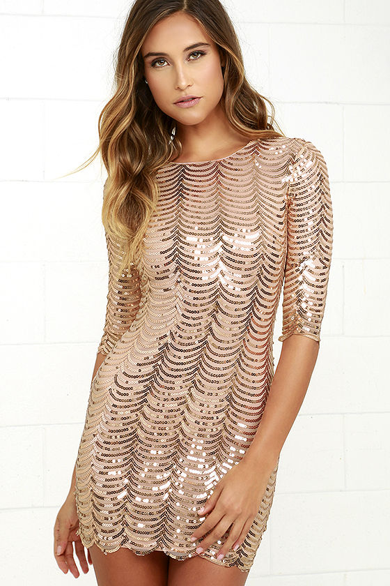 New Years Eve Sequin Dresses 2018 Plus Size Women