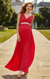 7. Long maternity dresses for baby showers